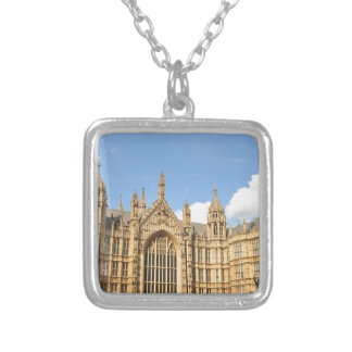 British Parliament Silver Plated Necklace