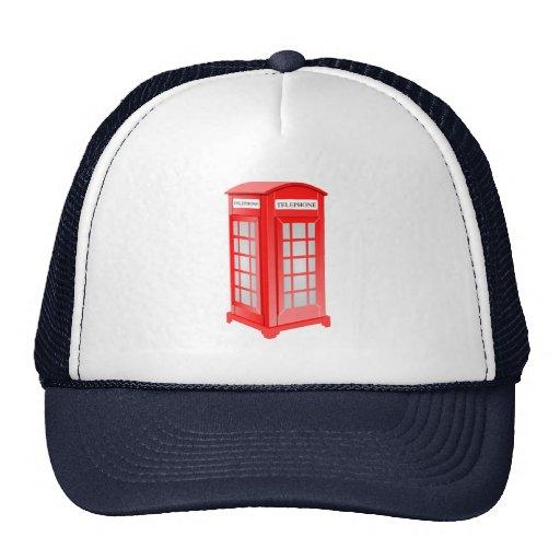 British Phone booth Trucker Hats