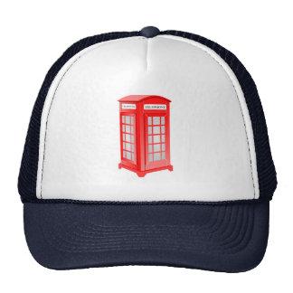 British Phone booth Trucker Hat