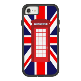 British phone box Union Jack flag Case-Mate Tough Extreme iPhone 8/7 Case