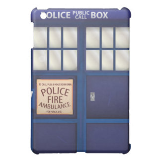 British Police Box Cover For The iPad Mini