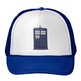 British Police Box Trucker Hat