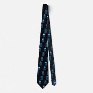 British Police Call Box Personalized Tie