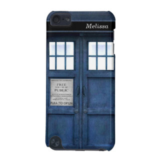 British Police Phone Call Box Retro 1960s Pattern iPod Touch (5th Generation) Covers