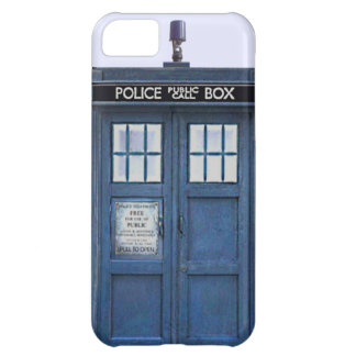 British Police Public Call Box Blue iPhone 5 Case