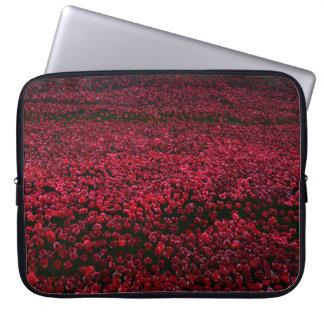 British Poppies Laptop Sleeve