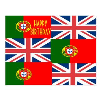 BRITISH-PORTUGUESE POSTCARD