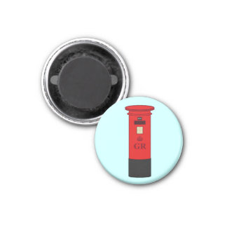 British Post Box Magnet