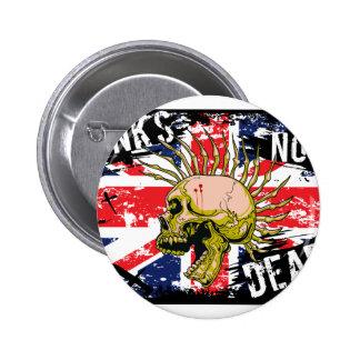 British Punk Not Dead 2 Inch Round Button