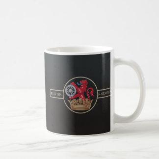 """British Railways """"Ferret and Dartboard"""" Crest Coffee Mug"""