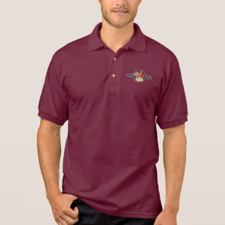British Railways Old Vintage Trains Hiking Duck Polo Shirt