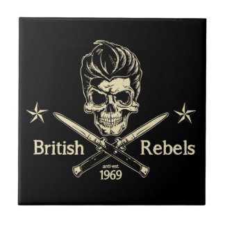 British Rebels Tile