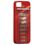British Red Telephone Box Personalized Case For The iPhone 5