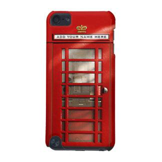 British Red Telephone Box Personalized iPod Case