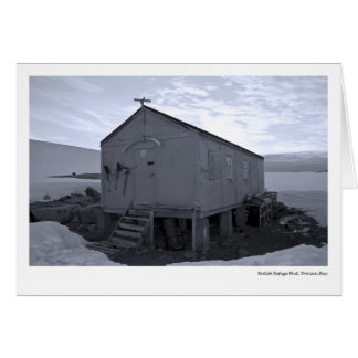 British Refuge Hut, Dorian Bay Card