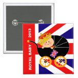 British Royal Baby Button