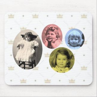 British royal girls mouse pad