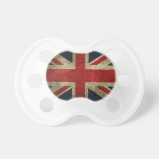 British Royal Union Jack Antique Flag Pacifier