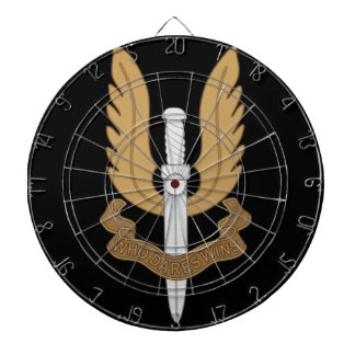 British SAS Dartboard