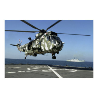 British Sea King Poster