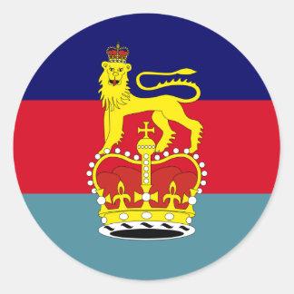 British Secretary Of State For Defence, United Kin Round Sticker