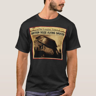 British Seize Flying Saucer T-Shirt