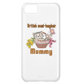 British semi-longhair Cat Mom iPhone 5C Cover