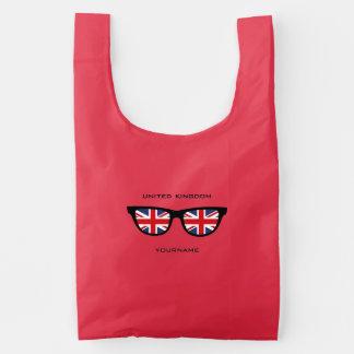 British Shades custom reusable bag