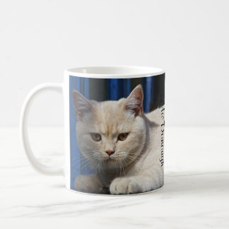 British Shorthair Cat Coffee Mug