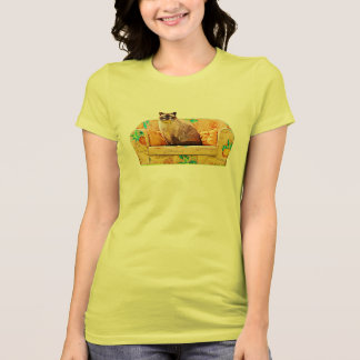 British Shorthair Cat, Funny Cat Art T-Shirt