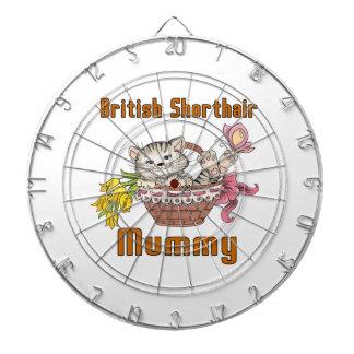 British Shorthair Cat Mom Dart Boards