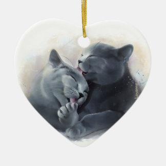 British Shorthair Ceramic Ornament