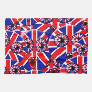british smileys kitchen towels