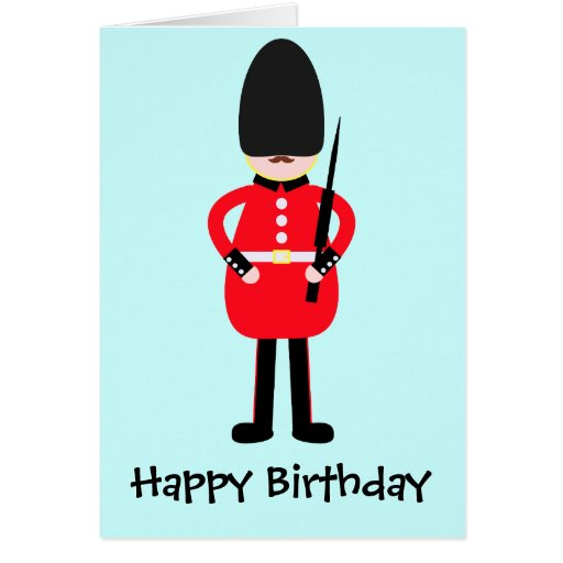 British Soldier Greeting Cards