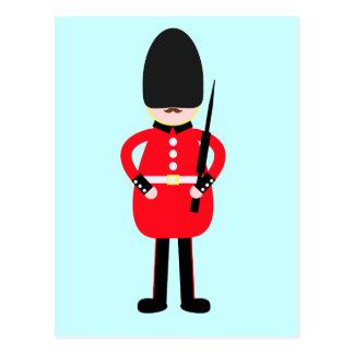 British Soldier Postcard