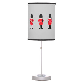 British Soldier Table Lamp