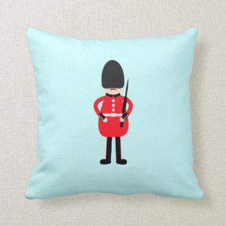 British Soldier Throw Pillow