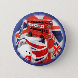 British Souvenirs ~ Button