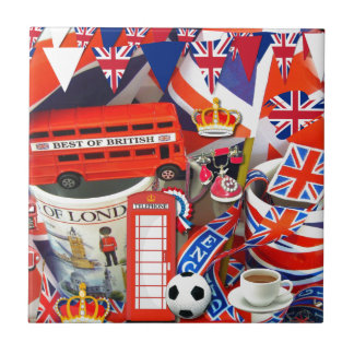 British Souvenirs Tile