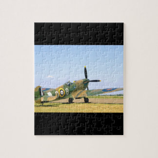 British Spitfire, Rear Quarter View_WWII Planes Puzzles
