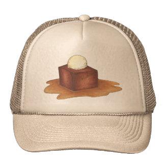 British Sticky Toffee Pudding Dessert Foodie Hat