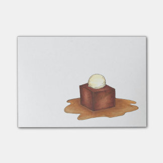 British Sticky Toffee Pudding Dessert Post-Its Post-it Notes
