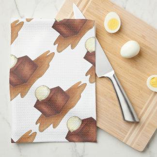 British Sticky Toffee Pudding England Foodie Towel