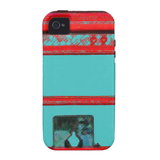 British style telephone booth Case-Mate iPhone 4 cases