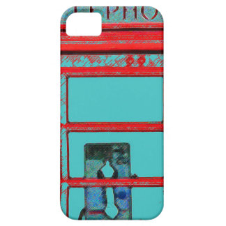 British style telephone booth iPhone 5 case