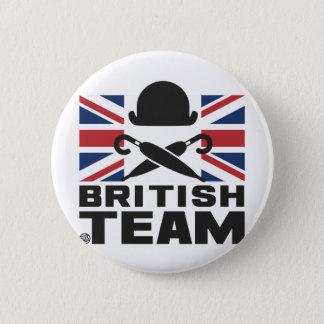 BRITISH TEAM 2 2 INCH ROUND BUTTON