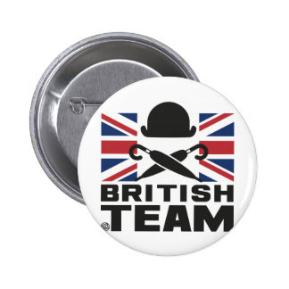 BRITISH TEAM 2 2 INCH ROUND BUTTON