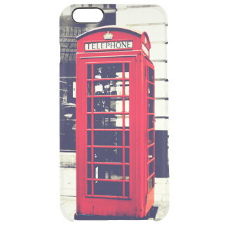 British Tele Booth iPhone 6/6s+ Clearly™Deflector Clear iPhone 6 Plus Case