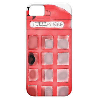 British Telephone Booth iPhone 5 Case