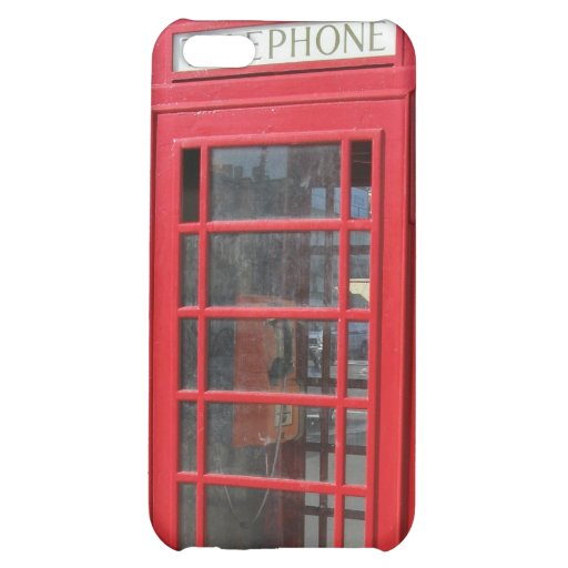 British Telephone Booth Iphone 5 case